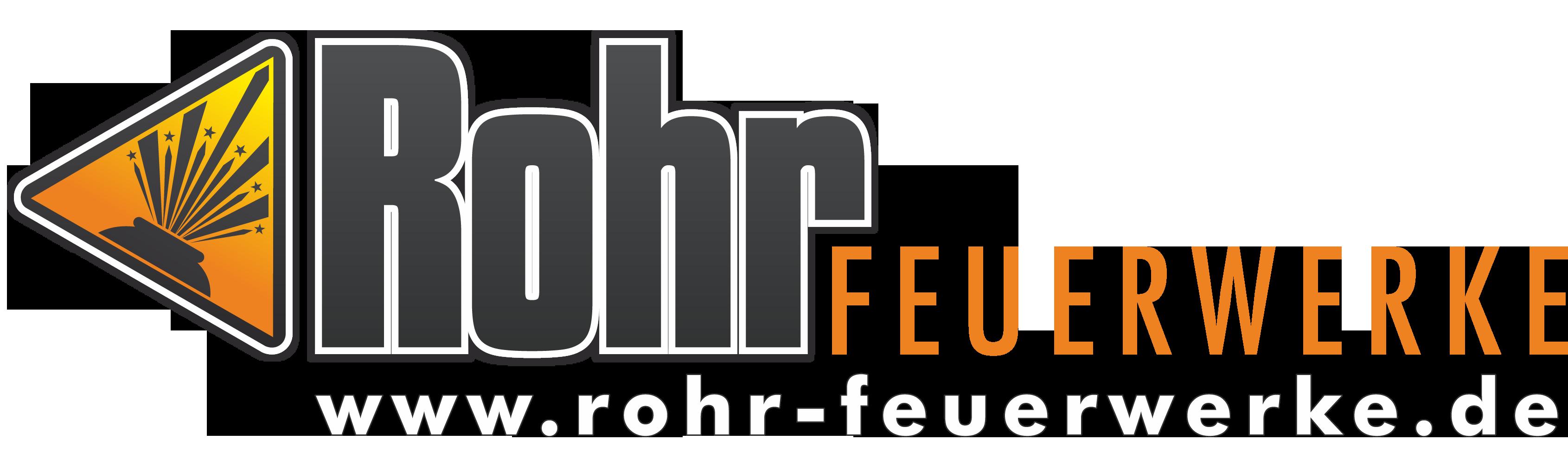 Logo ROHR FEUERWERKE mit URL